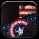 Captain USA Theme Keyboard by Moji Keyboard Theme 1