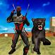 Multi Panther Heroes vs Mafia Super Villains by Tap 2 Run