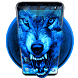 Ice Wolf Theme by free cool launcher theme