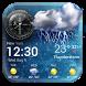 Daily & Hourly Weather Clock Widget by Weather Widget Theme Dev Team
