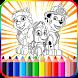 Paww Dog Coloring Patrol Page