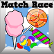 Kids Candy Games Match Race by Play N Learn