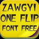 Zawgyi One Flip Font Free by fontforever