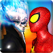 Ghost Hero vs Superheroes Fire Blaze Epic Battle by Nautoriouz