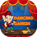 Dancing Ganesha on Screen - Ganesh on Phone by Vision India