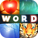 4Pics 1Word Challenging Levels by F&F Studio