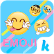Funny Emoji for Kika Keyboard by Emoji Keyboard Theme Studio