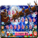 Christmas Santa Reindeer Keyboard by Super Cool Keyboard Theme