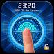 Fingerprint Lock Screen with Clock Dashboard by Weather Widget Theme Dev Team