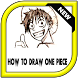 How to draw one piece by AnggaDeveloper ®