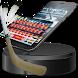 Chicago Hockey Keyboard Theme by Art Theme Studio