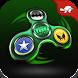 Super Hero Fidget Spinner by Turtle Zap Games