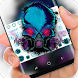 Poison Gas Skull Keyboard by Sexy Theme for Smart Phone
