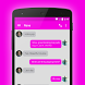 EvolveSMS Theme - Pinks by BORDEN GRAPHICS