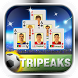 TriPeaks Solitaire by shen mahjong solitaire