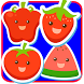 Fruits And Vegetables Match 3 by Kids Games Developer
