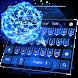 Neon Pentagon keyboard Theme by cool wallpaper