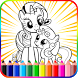 Pony Coloring Book Pages