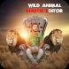 Wild Animal Photo Editor : Frame, Sticker, Effect by Retro App Club