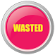 Sound wasted button by Ortegan Bethan
