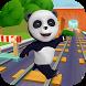 Talking Panda Run by Funny Talking