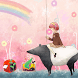 Pink Fairy Girl Dream by Launcher phone theme