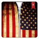 USA Flag Zipper Lock Screen by SOFIT