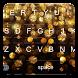 Gold Glitter Keyboard by kolingprang