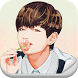2048 BTS V Taehyung KPop Game by LTGame Studio