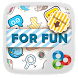 Funny Flat GO Launcher Theme by Freedom Design
