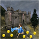 Girl Castle Subway Running by Trolley Game with Runner Adventures