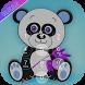 lock screen panda theme by new app 2018