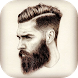Man Hair Mustache - Beard Photo Editor by T O P