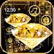 Gold Diamond Theme Wallpaper