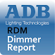 RDM Dimmer Report by ADB Lighting Technologies