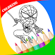 Coloring Super Hero Books by Ipan Studio