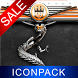 Orange Dragon HD Icon Pack by Maystarwerk Clocks & Themes Vol.1