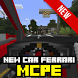 New Car Ferrari MCPE new MOD!