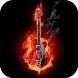 Fire and Guitar Live Wallpaper by Animated Live Wallpapers