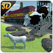 Farm Animal Transport Train by Real Games Studio - 3D World