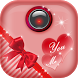 Love Hearts Photo Frame Editor by Girls Fashion Apps