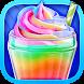 Unicorn Food - Sweet Rainbow Ice Cream Milkshake by Crazy Camp Media