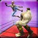Superheroes Ring Fighting: Spider vs Monster Hero by Nautoriouz