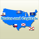 States and Capitals Quiz by acubedapps