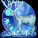 Neon blue deer theme by Elegant Theme