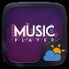 Music Player GO Weather Widget Theme