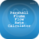 Parshall Flume Flow Rate Calc by HIOX Softwares Pvt Ltd