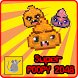 Super Poopy 2048 - Mix Up! by Le Rat Games
