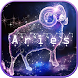 Aries Zodiac keyboard Theme by hot keyboard themes