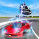 Flying Police Electric Car Sim by Digital Toys Studio